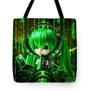 Manga Matrix Tote Bag