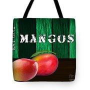 Mango Farm Sign Tote Bag