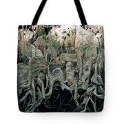 Mangrove Aerial Roots Tote Bag