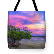 Mangrove By The Bay Tote Bag by Marvin Spates