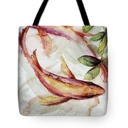 Mangrove Pisces Tote Bag by Ashley Kujan
