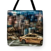 Manhattan - Yellow Cabs - Future Tote Bag