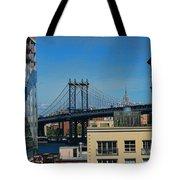 Manhattan Bridge From Brooklyn Tote Bag