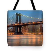 Manhattan Bridge I Tote Bag