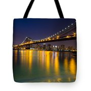 Manhattan Bridge Tote Bag