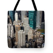 Manhattan Bryant Park Tote Bag by Jannis Werner