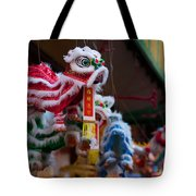 Manhattan Chinatown Decorations Tote Bag