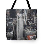 Manhattan City Canyons Tote Bag