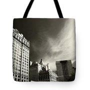 Manhattan Contrast Tote Bag