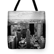 Manhattan Tote Bag by Dave Bowman