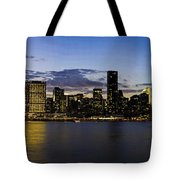 Manhattan From Gantry Tote Bag