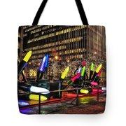 Manhattan Holiday Decorations Tote Bag