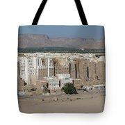 Manhattan Of The Desert Tote Bag