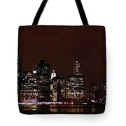 Manhattan On Super Weekend Tote Bag
