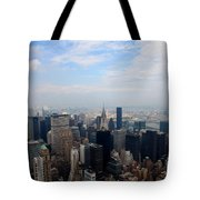 Manhattan Overview Tote Bag