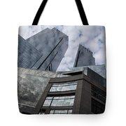 Manhattan Sky And Skyscrapers Tote Bag