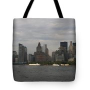 Manhattan Skyline 2010 Tote Bag