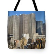 Manhattan Urban Jungle Tote Bag