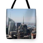 Manhattan View 2012 Tote Bag