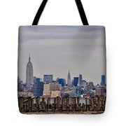 Manhattan View Tote Bag