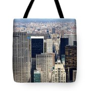 Manhattan View Uptown Tote Bag