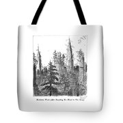 Manhattan Woods Tote Bag