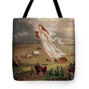 Manifest Destiny 1873 Tote Bag by Photo Researchers