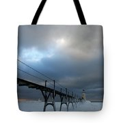 Manistee Lighthouse 7 Tote Bag