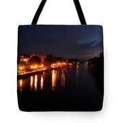 Manistee River Channel Tote Bag