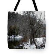 Manistee River Tote Bag