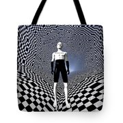 Mankinds Use Of Binary Language Tote Bag