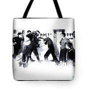Manly Art Of Boxing Tote Bag
