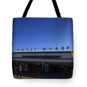 Manly Wharf Tote Bag