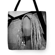 Mannequin Girl Horizontal Tote Bag
