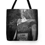 Mannequin In A Window Display Tote Bag