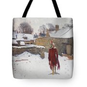 Mannikin In The Snow Tote Bag