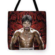 Manny Pacquiao Artwork 1 Tote Bag