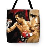 Manny Pacquiao Artwork 2 Tote Bag