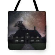 Manor At Night Tote Bag