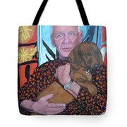 Man's Best Friend Tote Bag by Tom Roderick