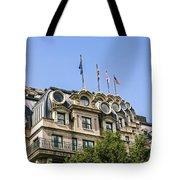 Mansard Roof Apartments Tote Bag