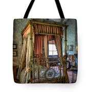 Mansion Bedroom Tote Bag