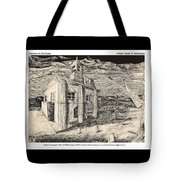Mansion In Darkness Tote Bag