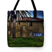 Mansion In The Woods Tote Bag