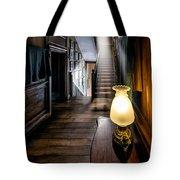 Mansion Lamp Tote Bag