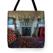 Mansion Sitting Room Tote Bag by Adrian Evans