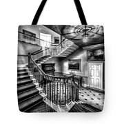 Mansion Stairway V2 Tote Bag