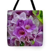 Mansoa Alliacea Tote Bag