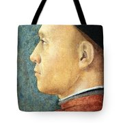 Mantegna's Portrait Of A Man Tote Bag