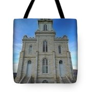 Manti Temple East Side Tote Bag